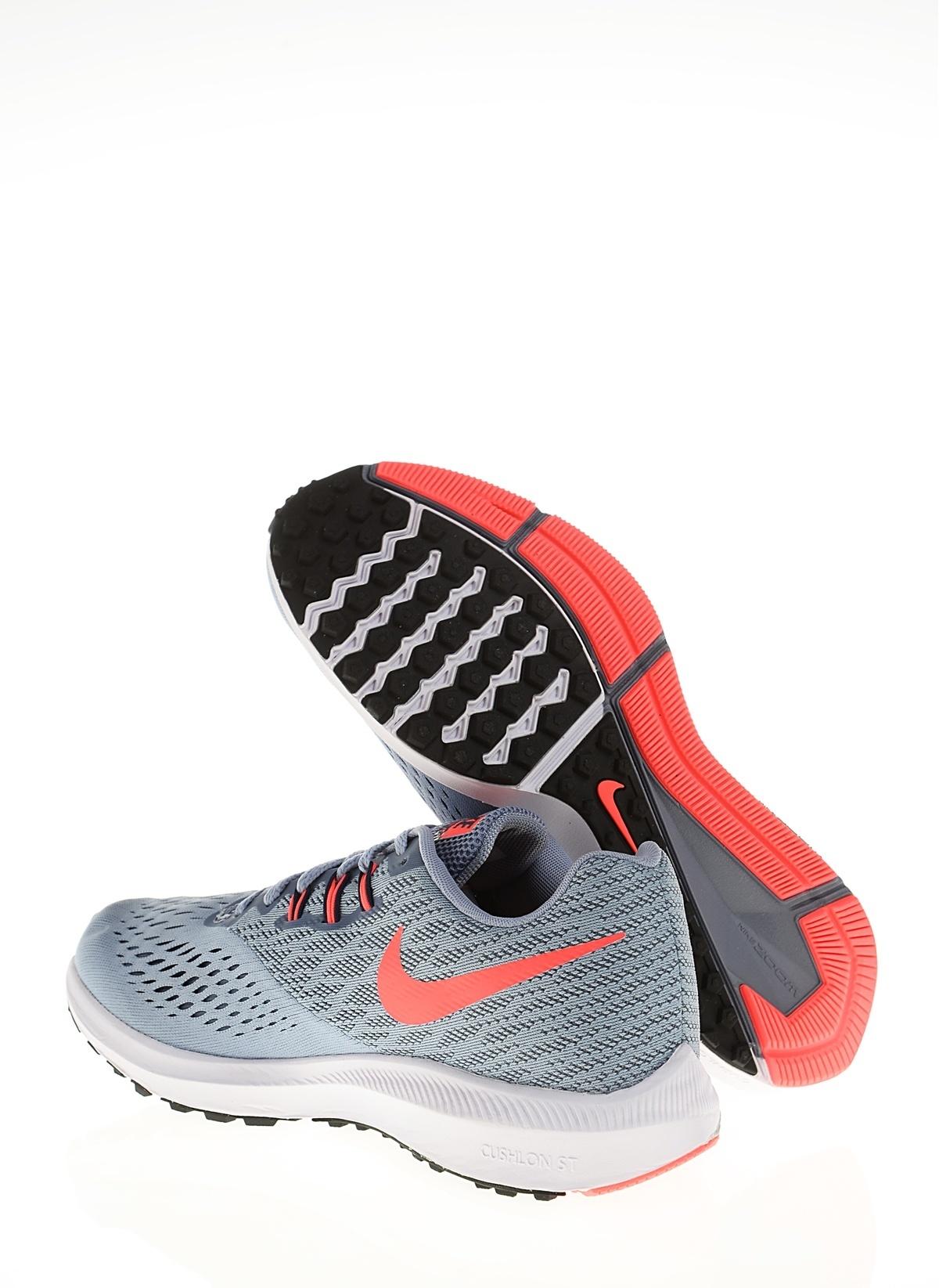 fba882925977b Nike Kadın Wmns Nike Zoom Winflo 4 Glacier Grey Obsidian-Armory B ...